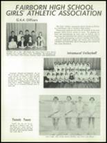 1958 Fairborn High School Yearbook Page 140 & 141