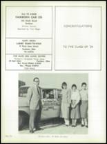 1958 Fairborn High School Yearbook Page 156 & 157