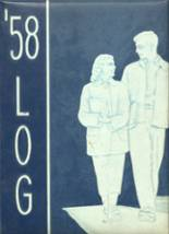 1958 Yearbook Cadillac High School