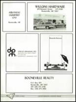 1988 Booneville High School Yearbook Page 136 & 137
