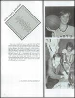 1984 Grosse Pointe South High School Yearbook Page 84 & 85