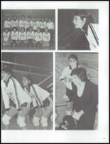 1984 Grosse Pointe South High School Yearbook Page 110 & 111