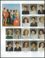 1984 Grosse Pointe South High School Yearbook Page 122 & 123
