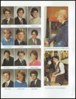 1984 Grosse Pointe South High School Yearbook Page 126 & 127