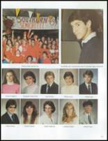 1984 Grosse Pointe South High School Yearbook Page 128 & 129