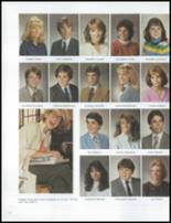 1984 Grosse Pointe South High School Yearbook Page 136 & 137