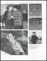 1984 Grosse Pointe South High School Yearbook Page 210 & 211