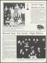 1988 North High School Yearbook Page 84 & 85
