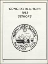 1988 North High School Yearbook Page 134 & 135