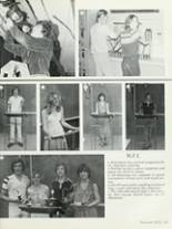 1981 Neff High School Yearbook Page 128 & 129