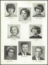 1964 Central High School Yearbook Page 22 & 23
