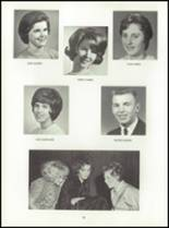 1964 Central High School Yearbook Page 30 & 31