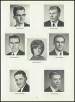 1964 Central High School Yearbook Page 42 & 43
