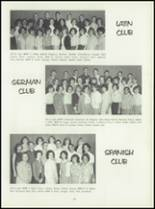 1964 Central High School Yearbook Page 90 & 91