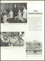 1964 Central High School Yearbook Page 102 & 103