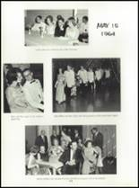 1964 Central High School Yearbook Page 108 & 109