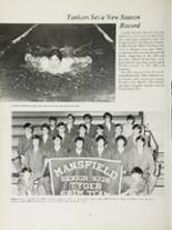 1970 Mansfield High School Yearbook Page 40 & 41