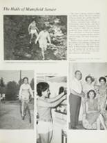 1970 Mansfield High School Yearbook Page 64 & 65