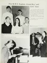 1970 Mansfield High School Yearbook Page 66 & 67