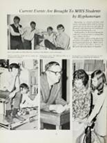1970 Mansfield High School Yearbook Page 82 & 83