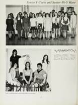 1970 Mansfield High School Yearbook Page 102 & 103