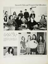 1970 Mansfield High School Yearbook Page 108 & 109