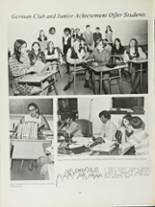 1970 Mansfield High School Yearbook Page 110 & 111