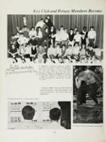 1970 Mansfield High School Yearbook Page 112 & 113