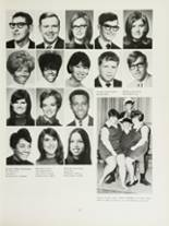 1970 Mansfield High School Yearbook Page 134 & 135