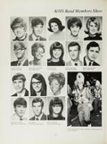 1970 Mansfield High School Yearbook Page 136 & 137