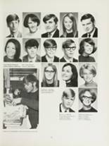 1970 Mansfield High School Yearbook Page 138 & 139