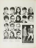 1970 Mansfield High School Yearbook Page 142 & 143