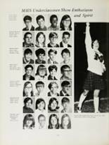 1970 Mansfield High School Yearbook Page 166 & 167