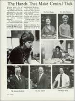 1984 High Point Central High School Yearbook Page 124 & 125
