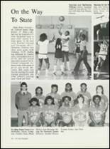 1984 High Point Central High School Yearbook Page 186 & 187
