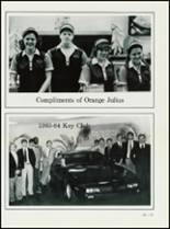 1984 High Point Central High School Yearbook Page 226 & 227
