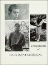 1984 High Point Central High School Yearbook Page 240 & 241
