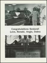 1984 High Point Central High School Yearbook Page 242 & 243