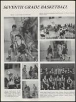 1996 St. Jo High School Yearbook Page 100 & 101