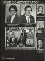 1990 Baird High School Yearbook Page 20 & 21