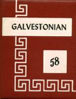 1958 Yearbook Galveston High School