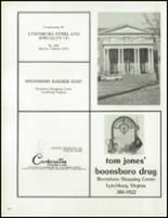 1981 Virginia Episcopal School Yearbook Page 174 & 175
