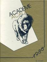 1986 Yearbook Academy High School