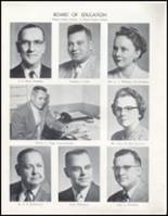 1957 Wahoo High School Yearbook Page 10 & 11
