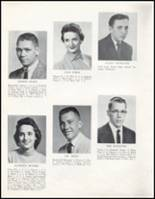 1957 Wahoo High School Yearbook Page 20 & 21