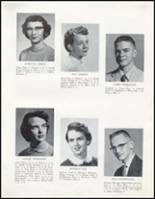 1957 Wahoo High School Yearbook Page 22 & 23