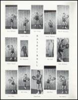 1957 Wahoo High School Yearbook Page 42 & 43