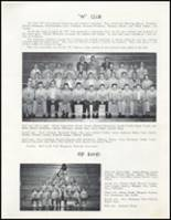 1957 Wahoo High School Yearbook Page 44 & 45