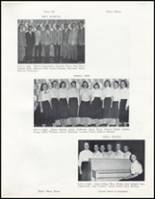 1957 Wahoo High School Yearbook Page 54 & 55