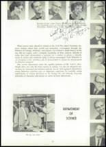 1961 York Suburban High School Yearbook Page 16 & 17